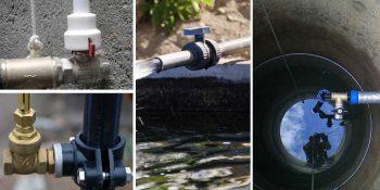 Как слить воду из скважины на зиму?